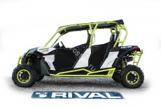 Защита порогов для brp can-am maverick 1000 ds max/ turbo max